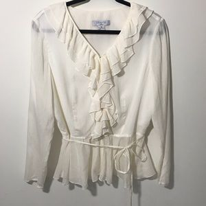 Micro-pleated Liberte by Emanuel Ungaro Blouse